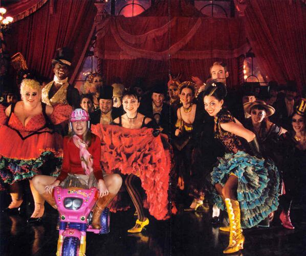 Rubén Caviedes incluye a Letizia Ortiz en la película Moulin Rouge